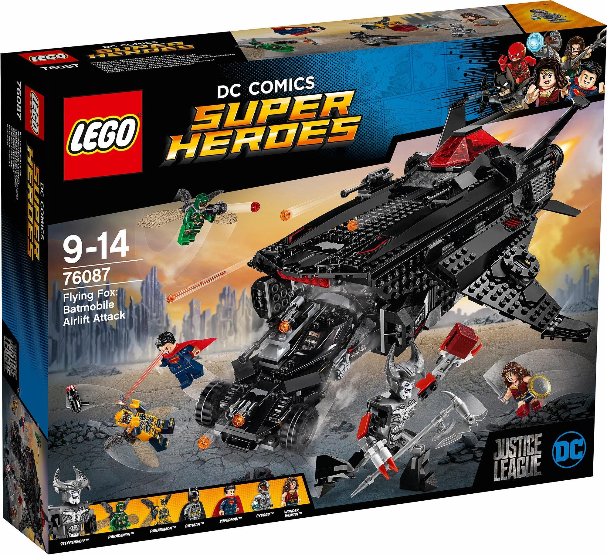 LEGO® Flying Fox: Batmobil-Attacke aus der Luft (76087), »LEGO® DC Comics Super Heroes«