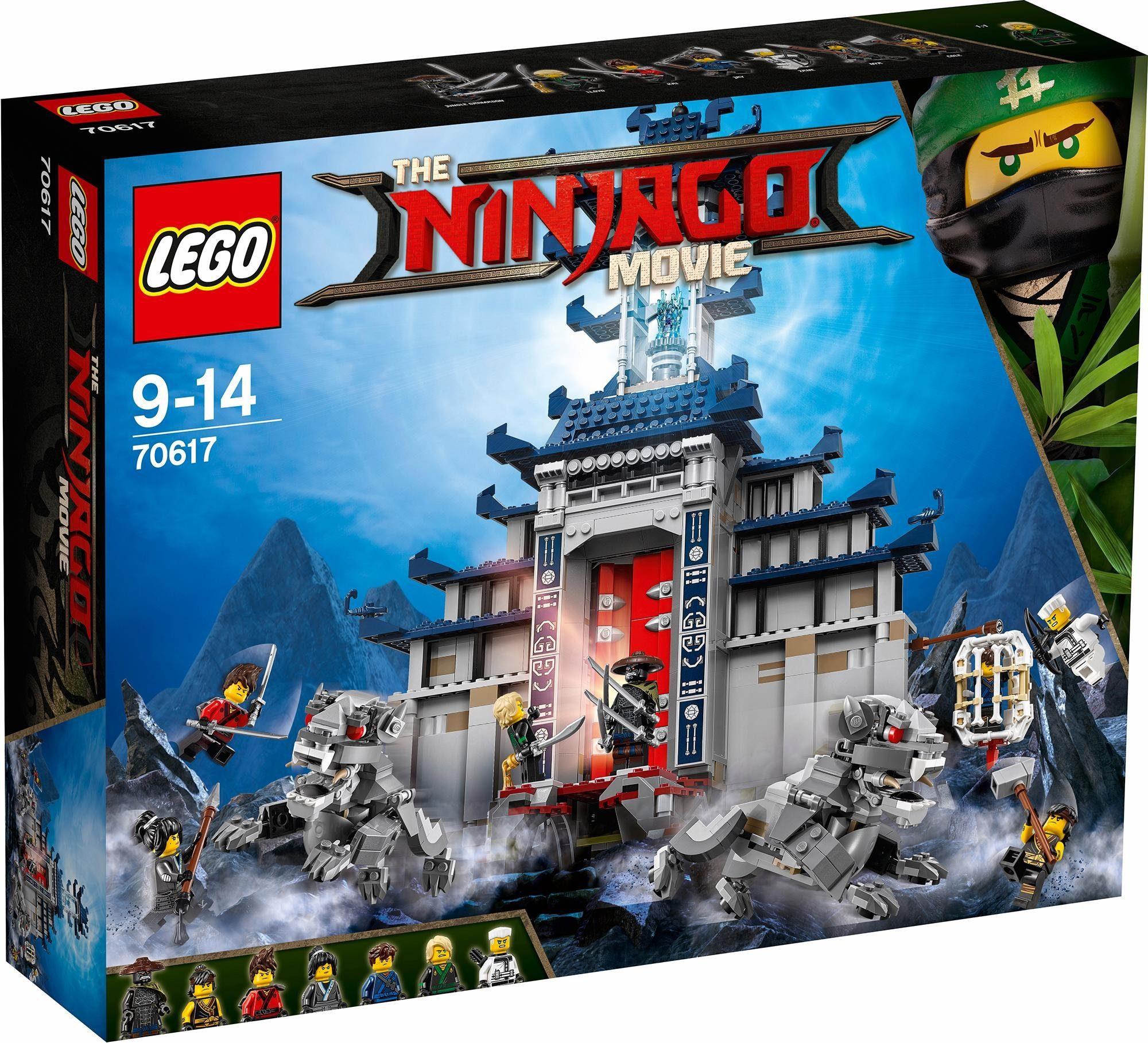 LEGO® Ultimativ ultimatives Tempel-Versteck (70617), »LEGO® NINJAGO®«