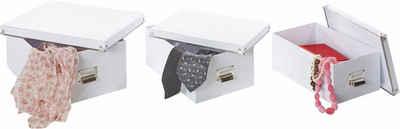 Zeller Present Aufbewahrungsbox, (5-tlg)