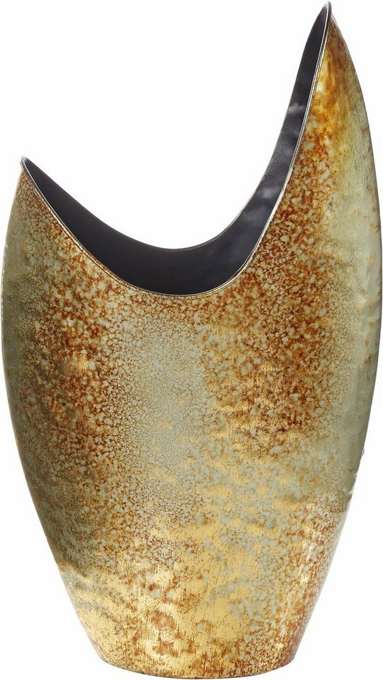 Home affaire deko vase mit effektvollem antik finish for Home affaire deko