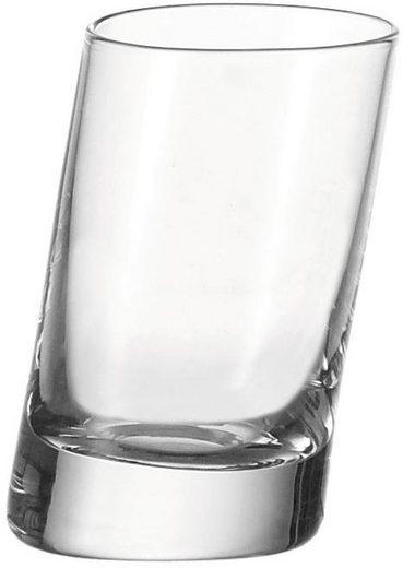 LEONARDO Schnapsglas »PISA« (6-tlg), Sehr starker Glasboden