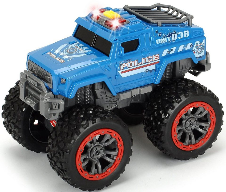dickie toys spielzeug polizei monstertruck swat unit. Black Bedroom Furniture Sets. Home Design Ideas