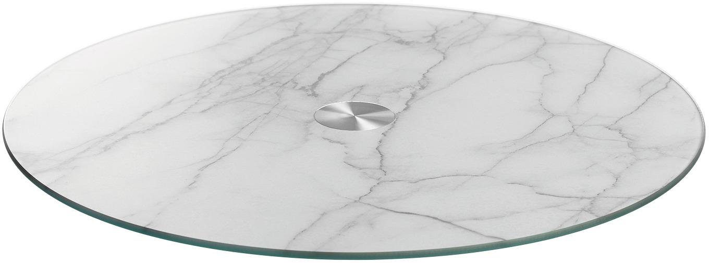 LEONARDO Servierplatte, Marmor, Ø 33 cm, »TURN«