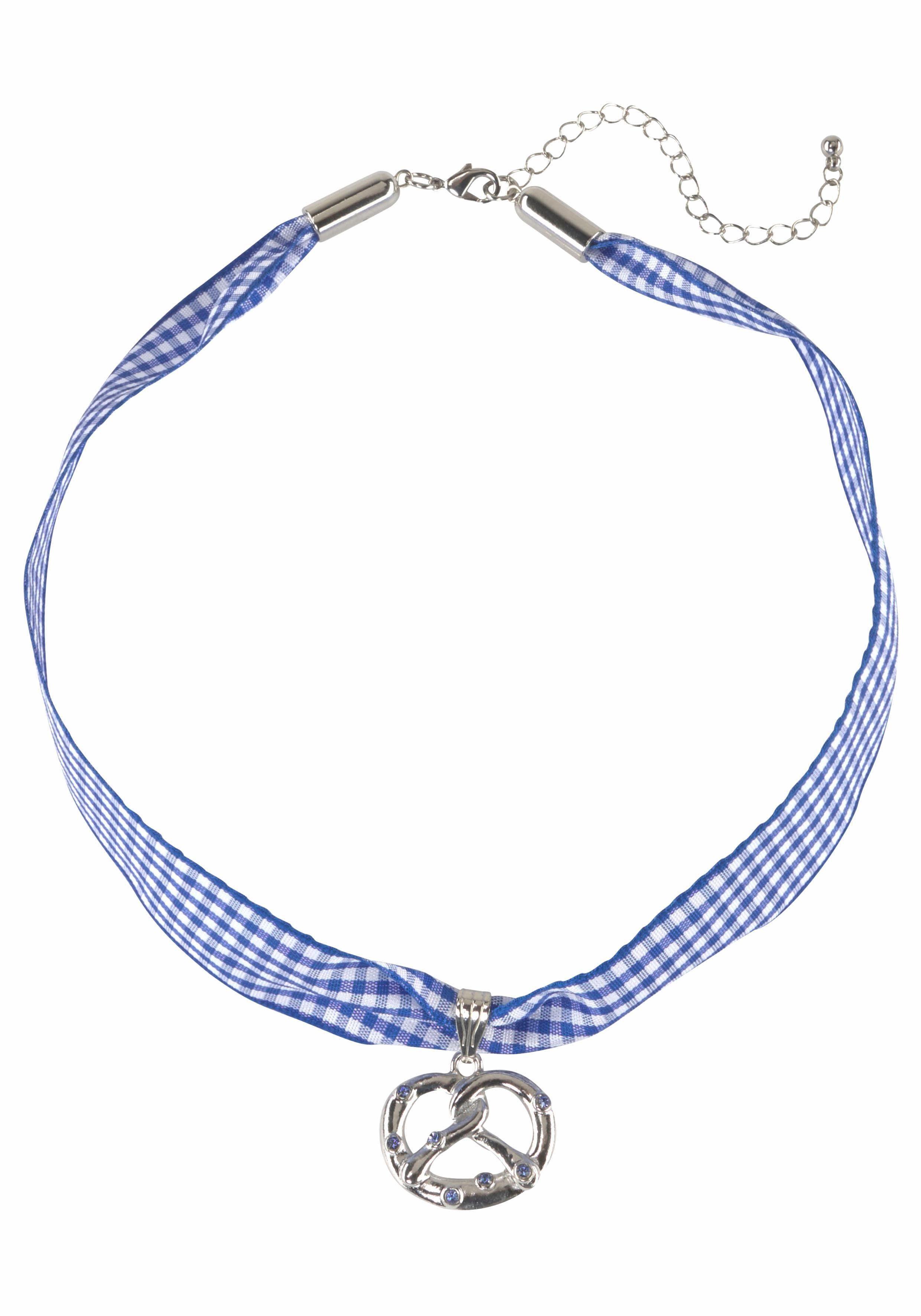 J.Jayz Halsband mit Brezel, Wiesn, Trachten