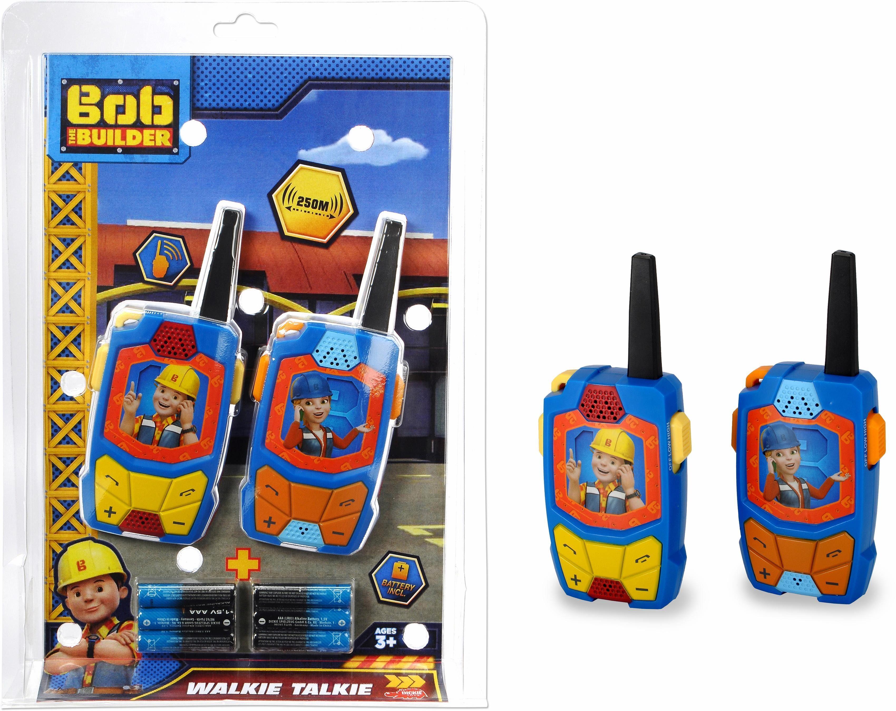 Dickie Toys Spielzeug Funkgeräte, »Bob der Baumeister, Walkie Talkie«