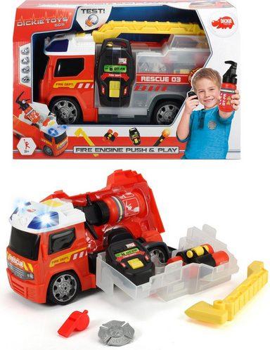 dickie toys feuerwehrauto mit zubeh r fire engine push play online kaufen otto. Black Bedroom Furniture Sets. Home Design Ideas