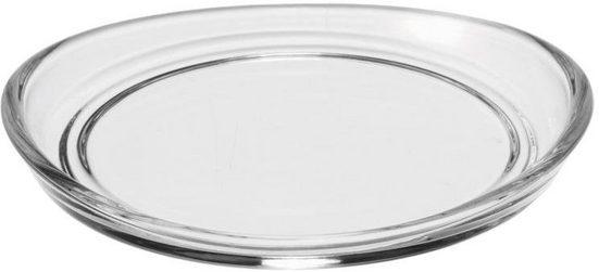LEONARDO Glasuntersetzer LOOP, Set, 6-tlg., Glas