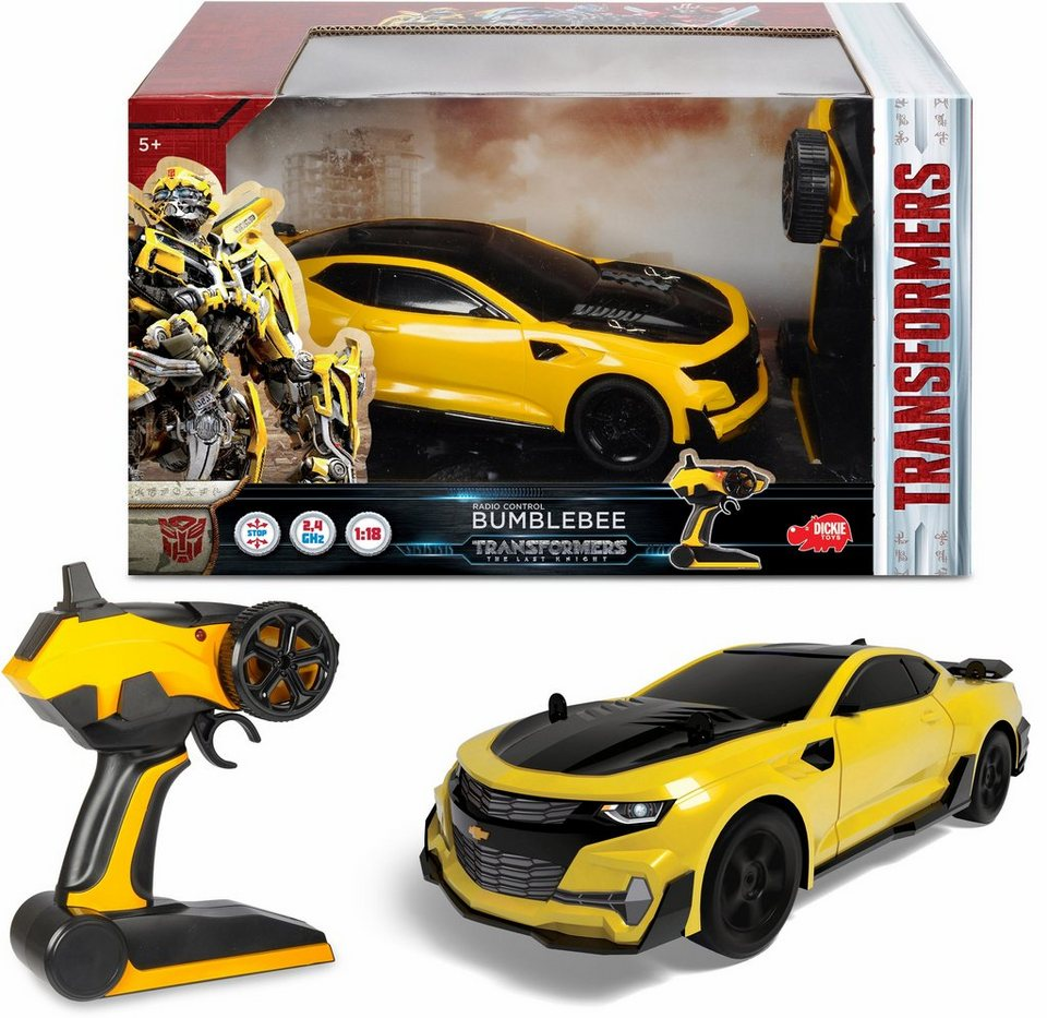 Dickie toys rc fahrzeug transformers bumblebee« otto