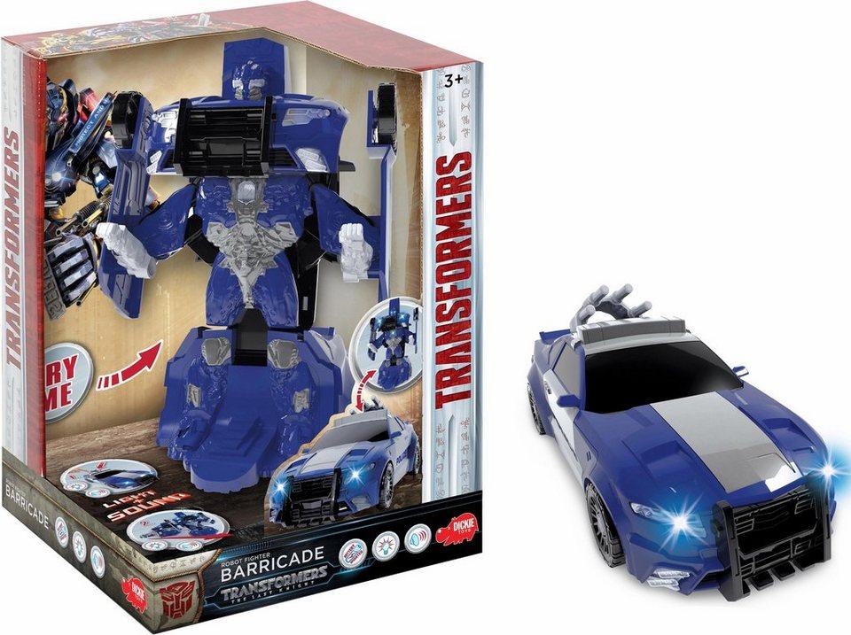 dickie toys 2in1 roboter und auto m5 robot fighter barricade online kaufen otto. Black Bedroom Furniture Sets. Home Design Ideas