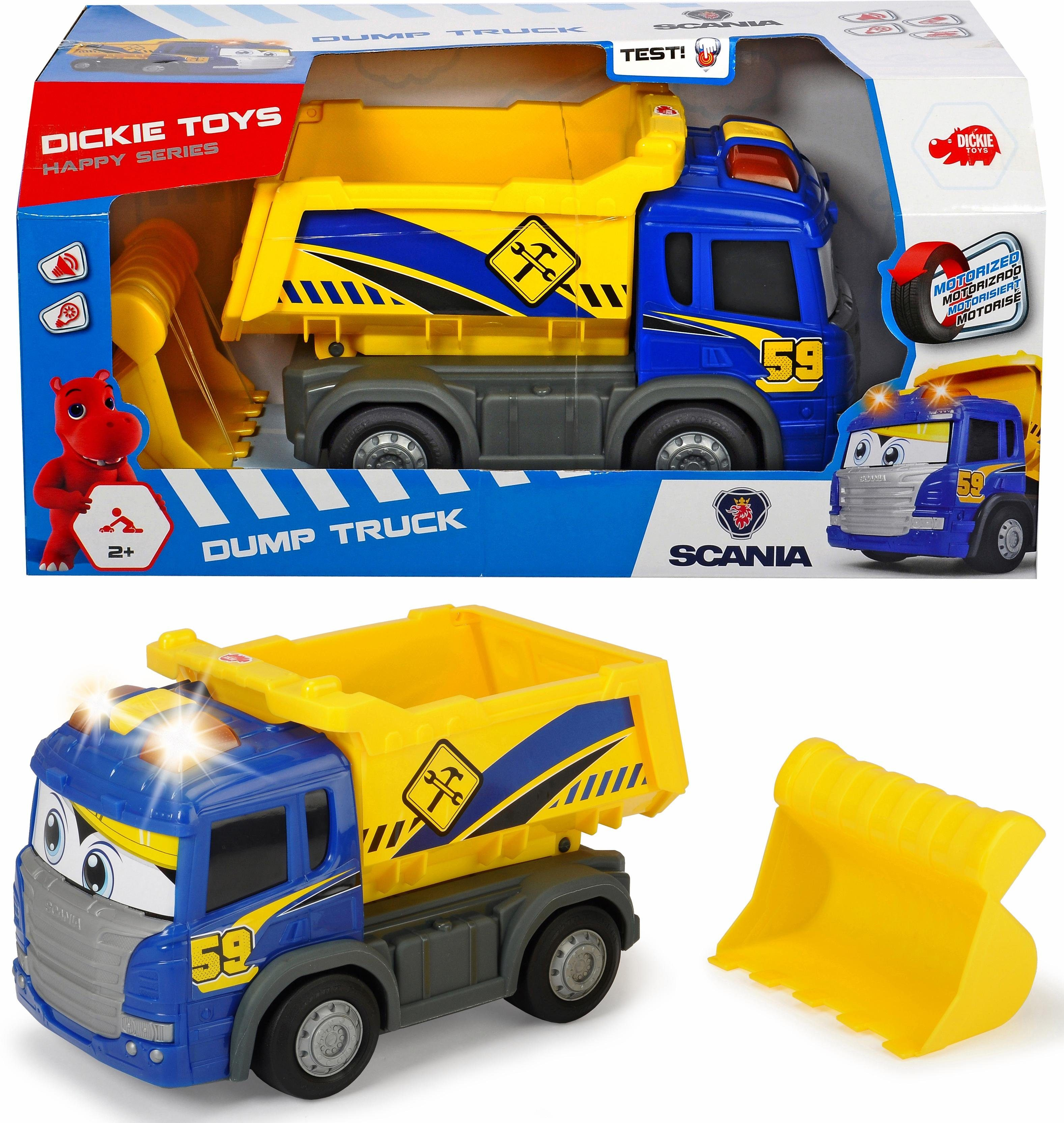 Dickie Toys Spielzeug LKW Muldenkipper motorisiert, »Dump Truck«