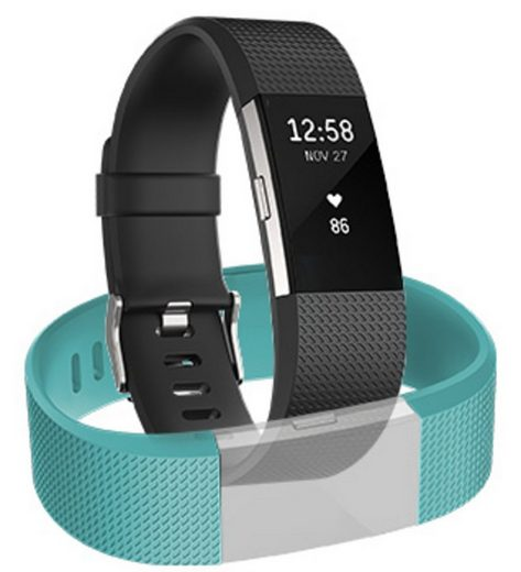 fitbit Activity Tracker »Charge 2 (L)+ fitbit Classic Armband (L)«