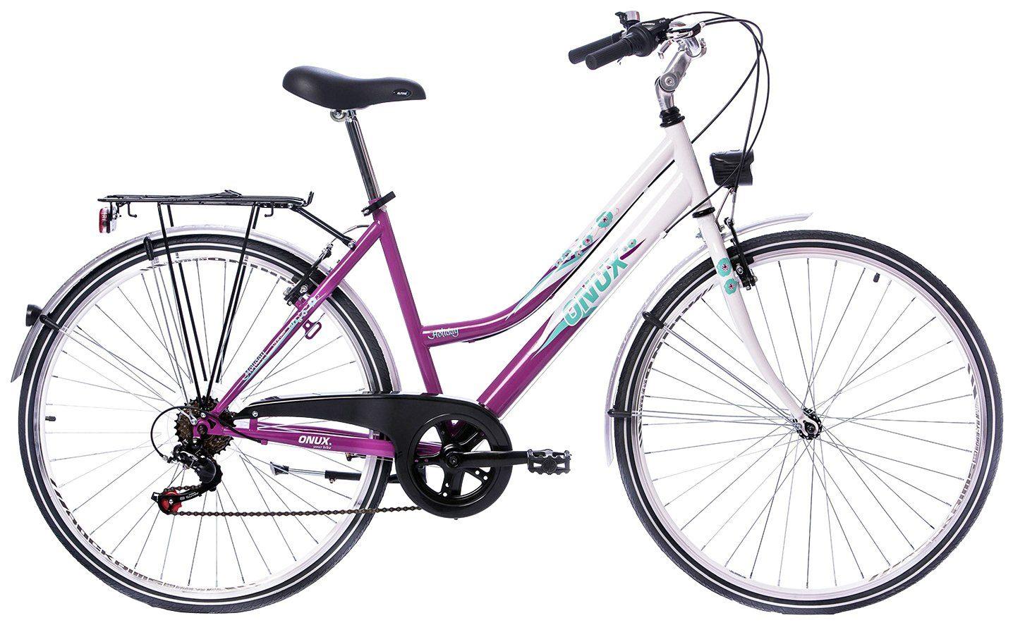 ONUX Citybike Damen »Holiday«, 26 Zoll, 6 Gang, V-Bremsen