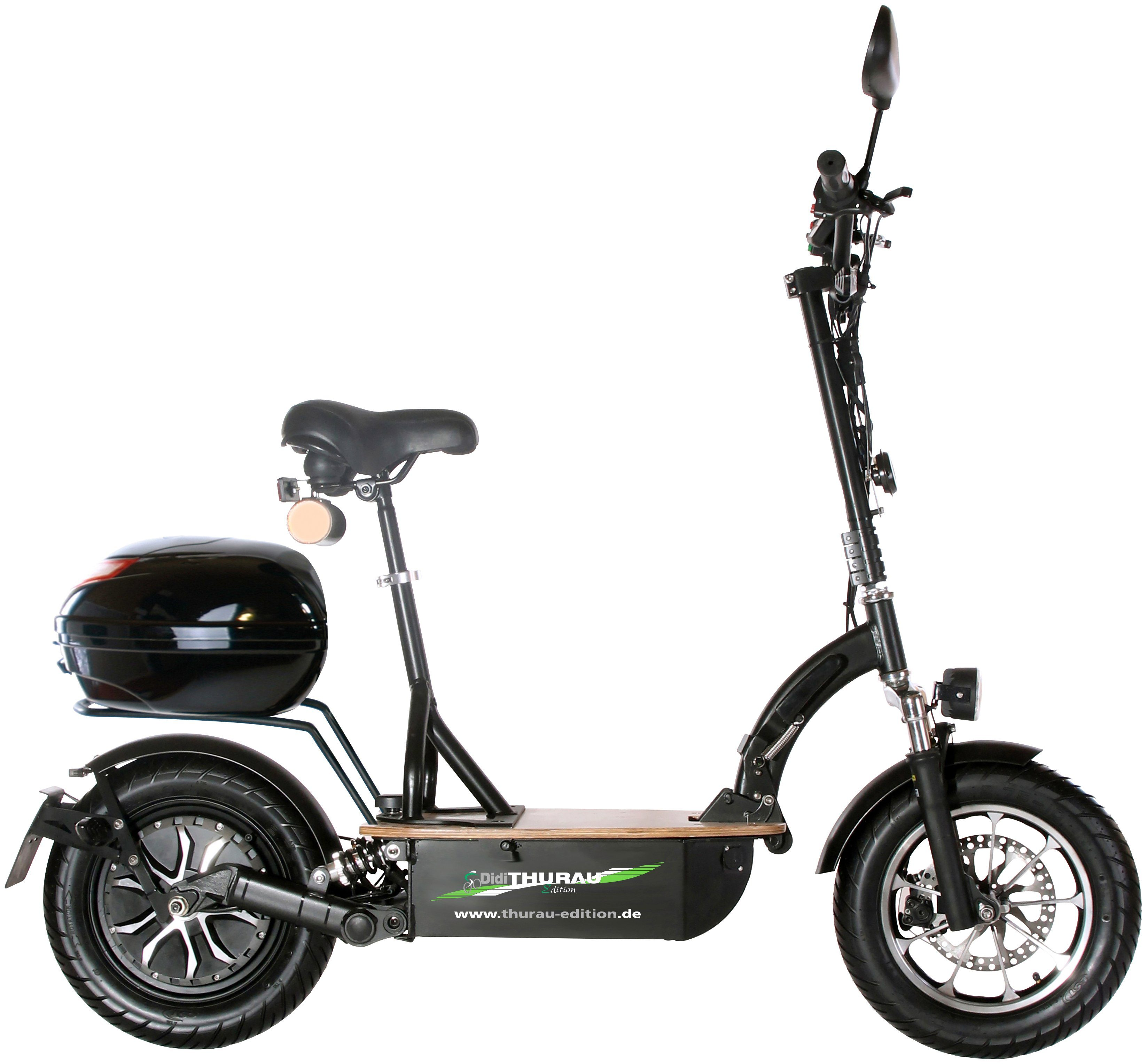 DIDI THURAU E-Scooter »Eco-Tourer Safety RSP«, 45 km/h, Inkl. Rundum-Sorglos-Paket