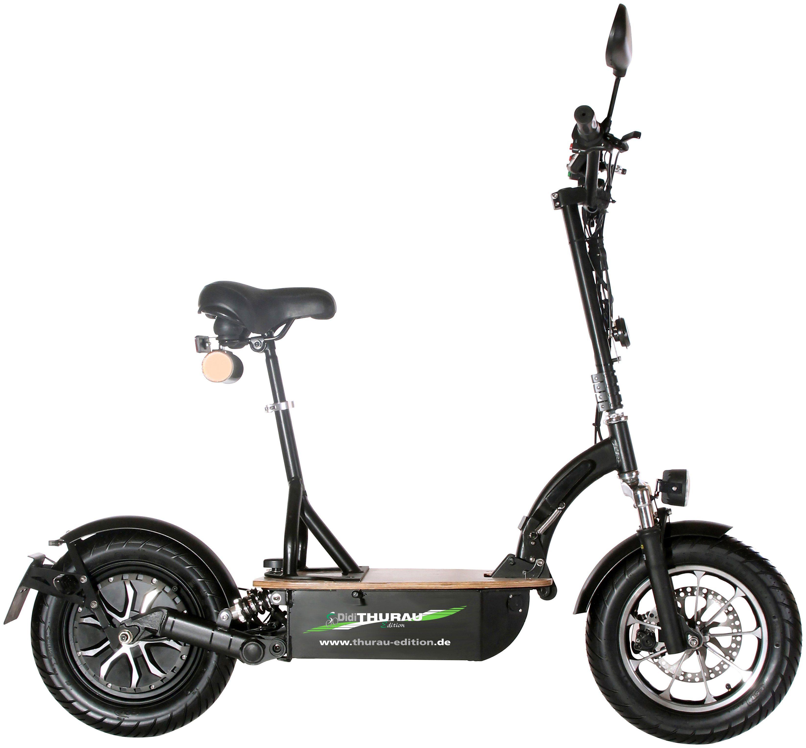 DIDI THURAU E-Scooter »Eco-Tourer Basic RSP«, 45 km/h, Inkl. Rundum-Sorglos-Paket