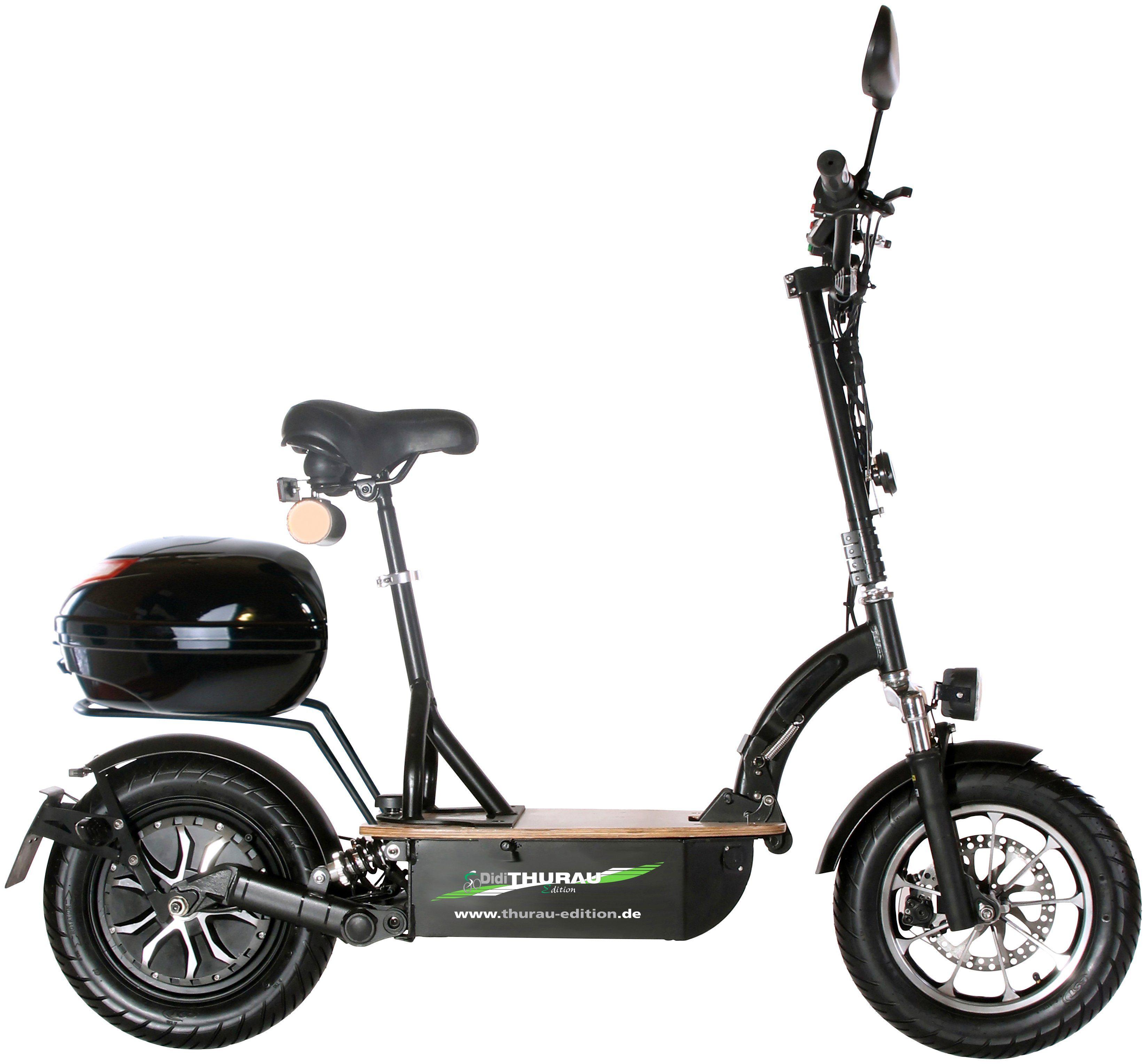DIDI THURAU E-Scooter »Eco-Tourer Safety Plus RS«, 45 km/h, Inkl. Rundum-Sorglos-Paket