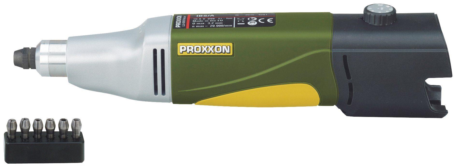 PROXXON Akku-Minischleifer »Akku-Bohrschleifer IBS/A «, 10,8 V, 2,6 Ah