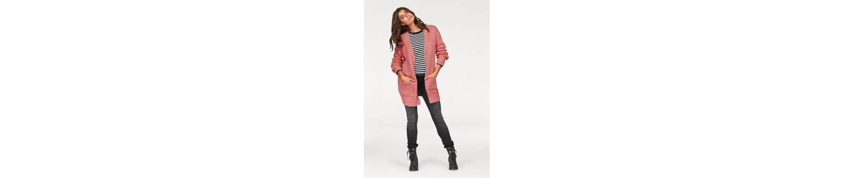 Cross Jeans® Strickjacke, Grobstrick