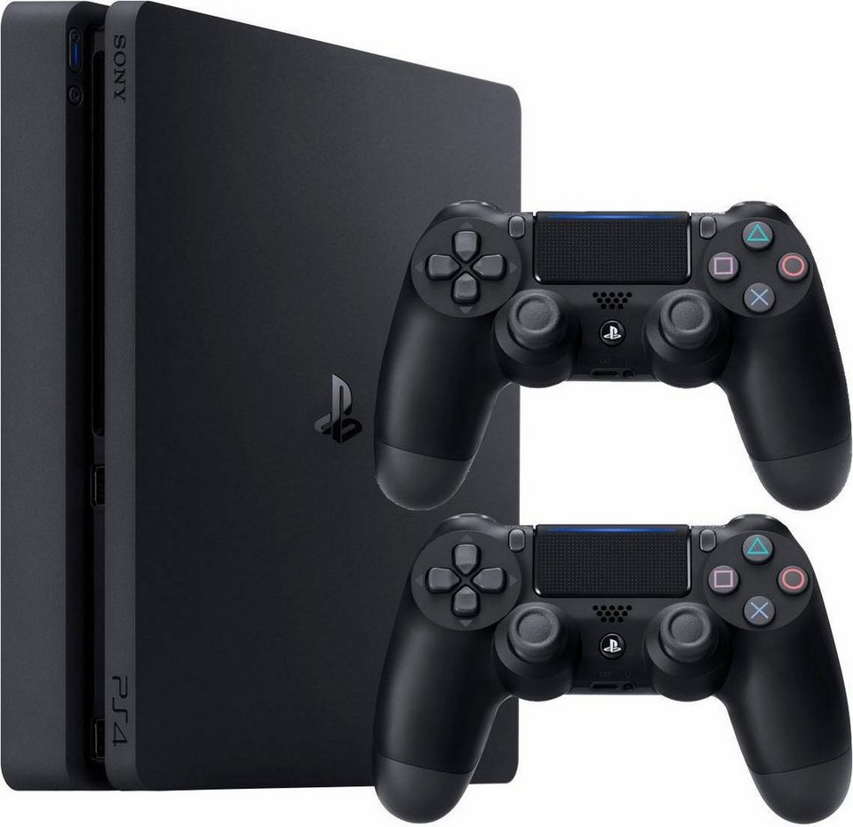 playstation 4 ps4 1tb 2 controller kaufen otto. Black Bedroom Furniture Sets. Home Design Ideas