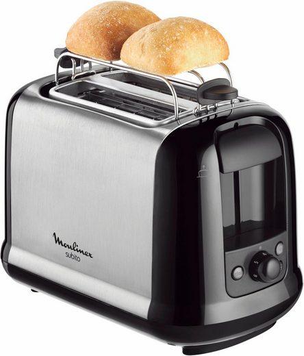 Moulinex Toaster LT2618 Subito, 2 kurze Schlitze, 850 W