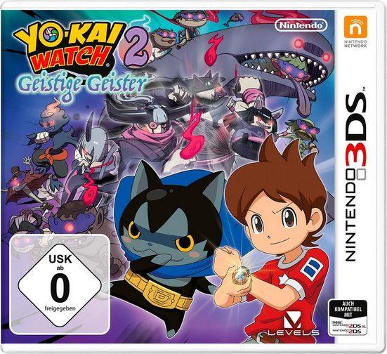 YO-KAI WATCH 2: Geistige Geister Nintendo 3DS