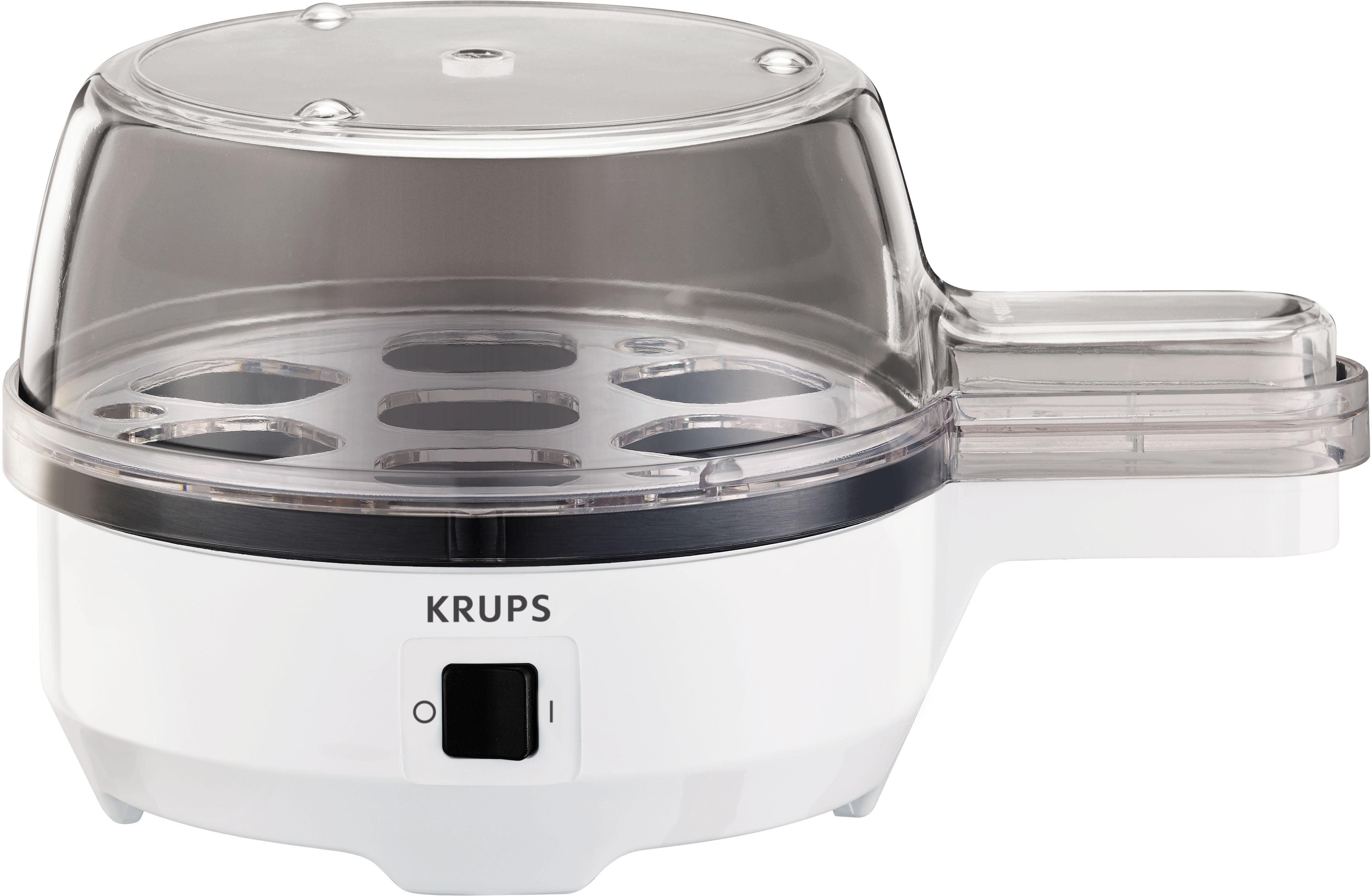 Krups Eierkocher Ovomat Spezial F23370, 350 Watt, weiß