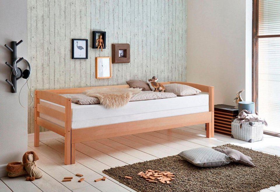 relita funktionsbett emilia mit lattenrost und auszug. Black Bedroom Furniture Sets. Home Design Ideas