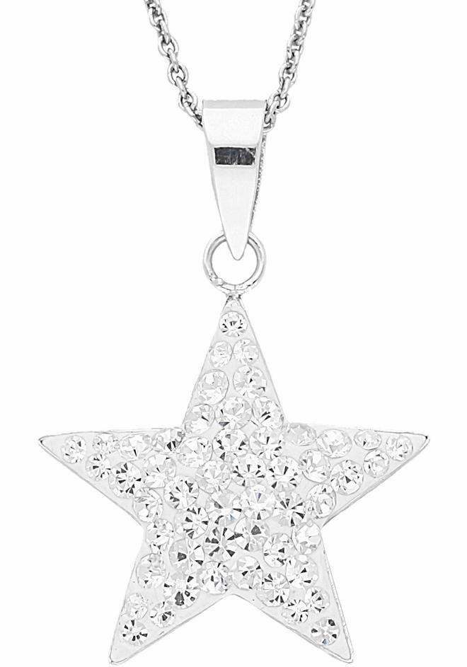 Firetti Kette mit Anhänger »Stern« mit Swarovski® Kristallen