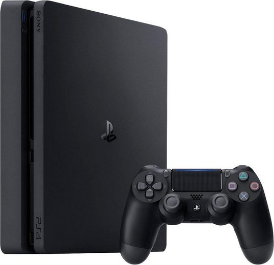 PlayStation 4 Slim, 500GB, 1080p Full HD