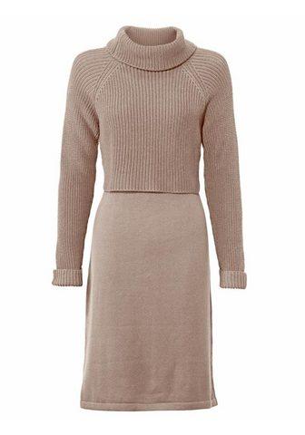 HEINE CASUAL megzta suknelė 2-in-1-Look
