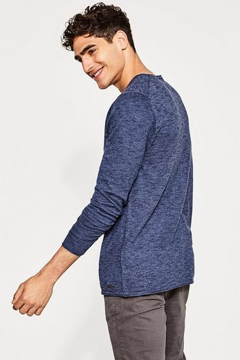 Edc By Esprit Fine Trick-sweater Of Cotton