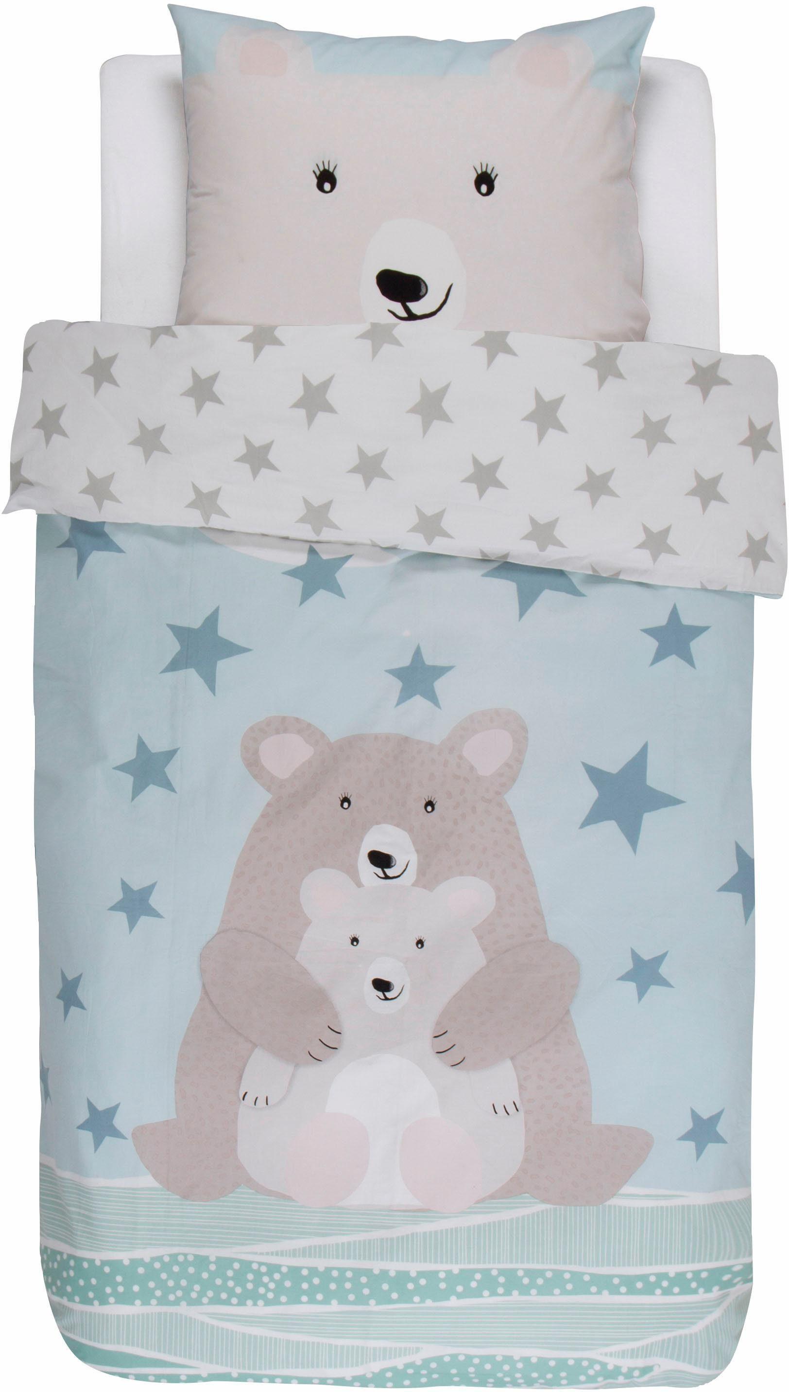 Kinderbettwäsche, Covers & Co., »Counting Stars«, mit niedlichen Bären