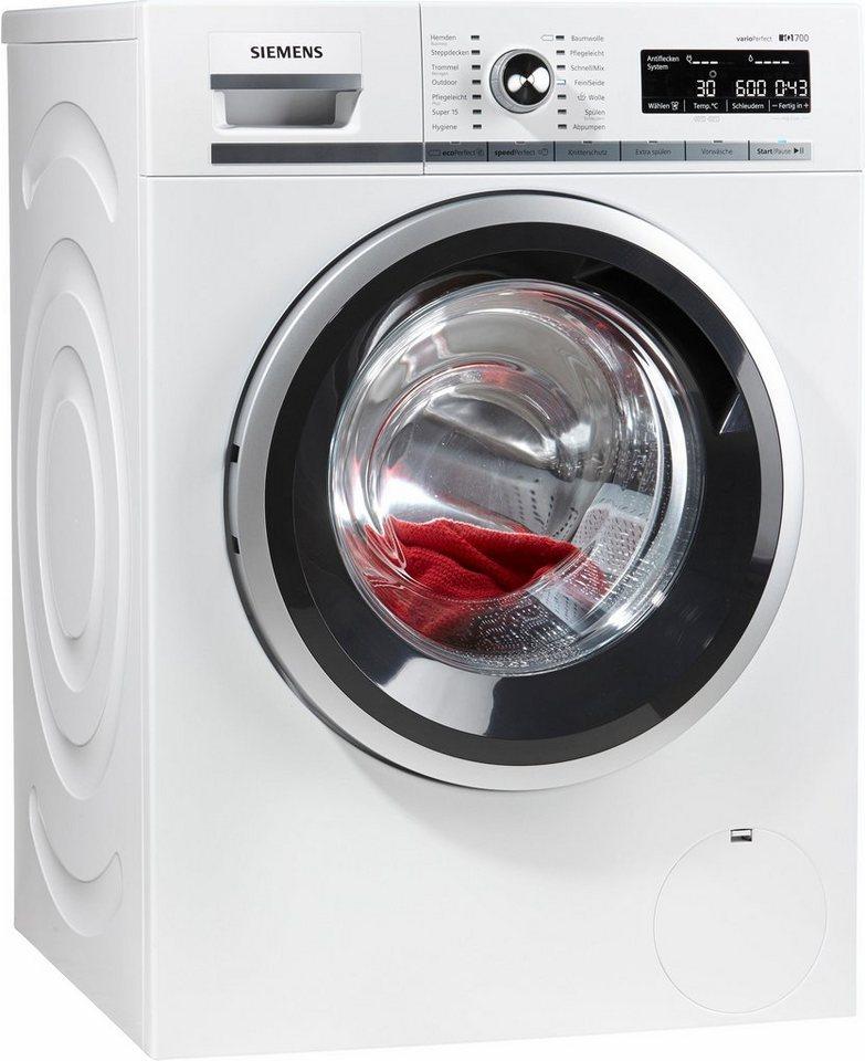 siemens waschmaschine iq700 wm14w5v1 9 kg 1400 u min 4 jahre garantie inklusive online kaufen. Black Bedroom Furniture Sets. Home Design Ideas