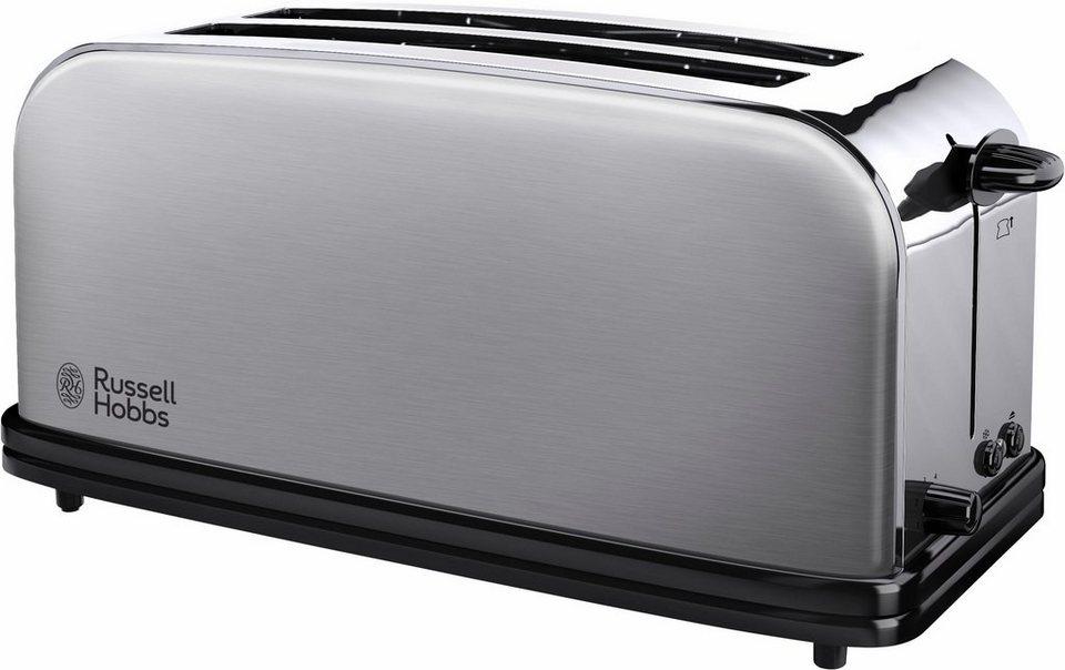 russell hobbs toaster 23610 56 2 lange schlitze f r 2 scheiben 1600 w online kaufen otto. Black Bedroom Furniture Sets. Home Design Ideas
