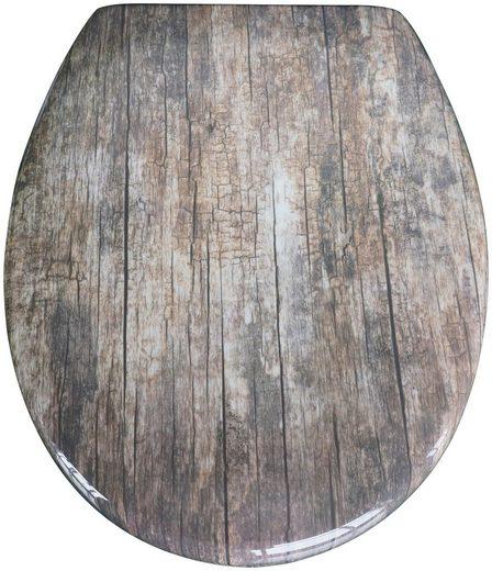 SCHÜTTE WC-Sitz »Old Wood«
