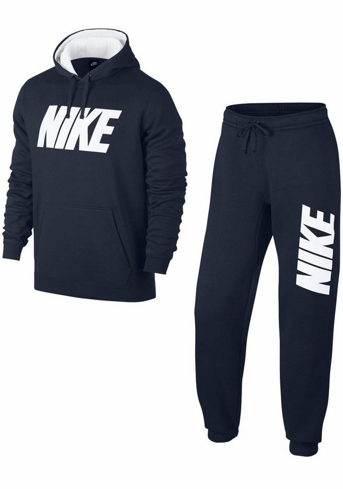 nike sportswear jogginganzug m nsw track suit fleece gx. Black Bedroom Furniture Sets. Home Design Ideas