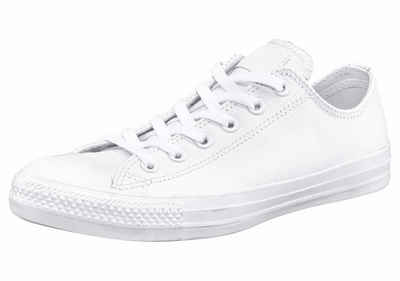 Converse »Chuck Taylor Basic Leather Ox Monocrome« Sneaker