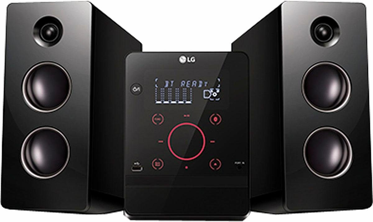 LG CM2760 Microanlage, Hi-Res, Bluetooth, RDS, 1x USB