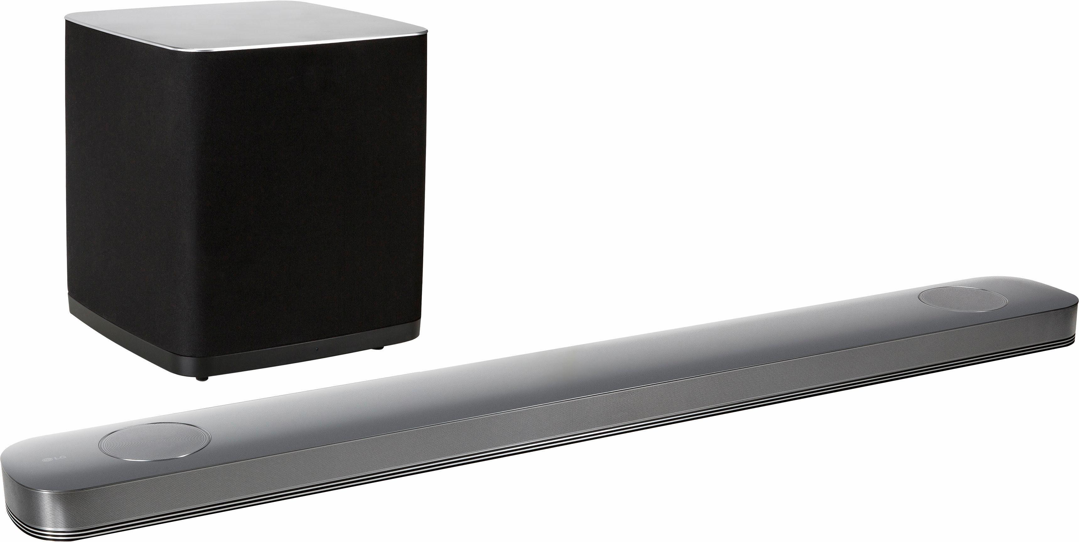 LG SJ9 Soundbar (Multiroom, Bluetooth, WiFi, Spotify)
