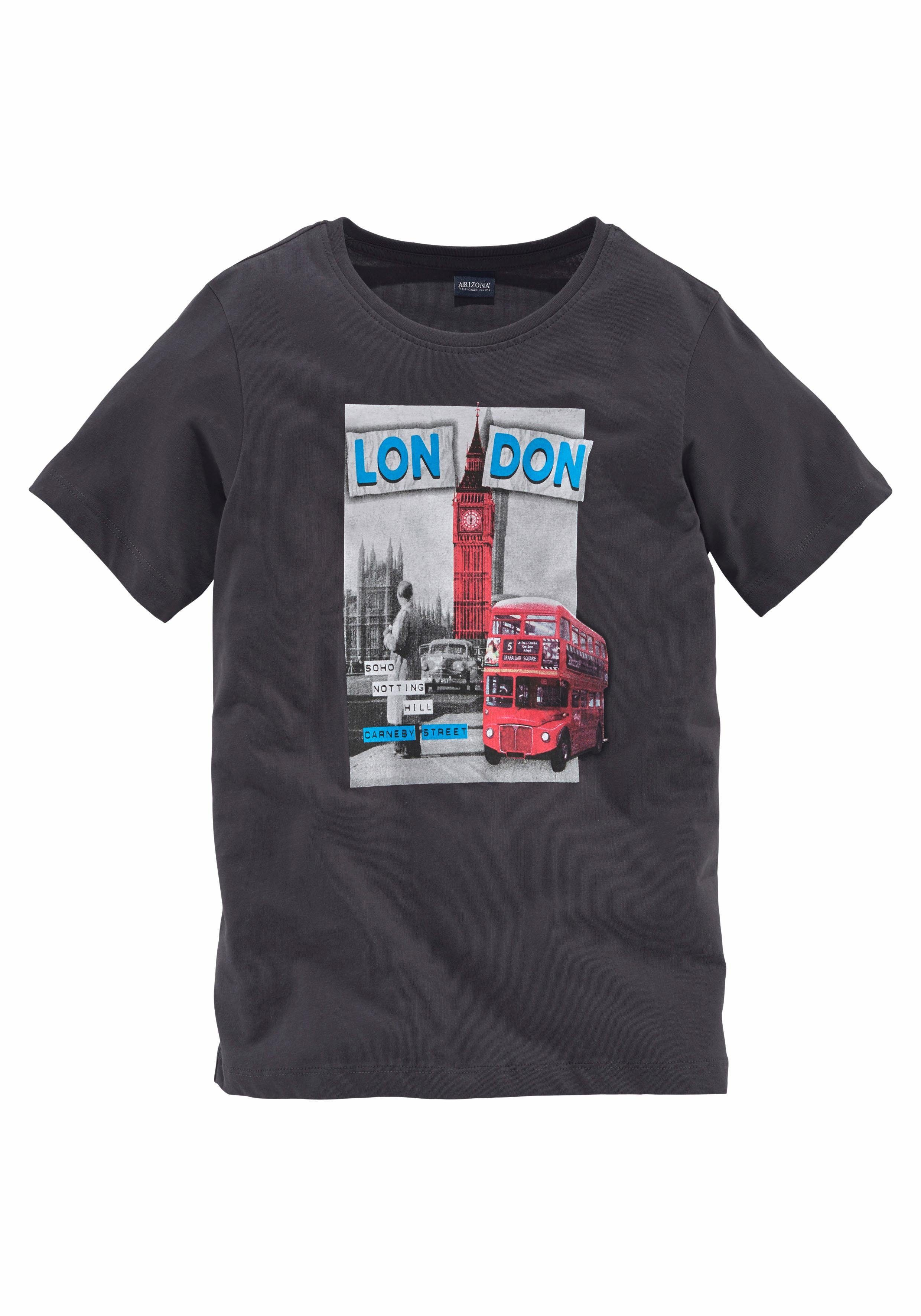 Arizona T-Shirt »LONDON« Druck
