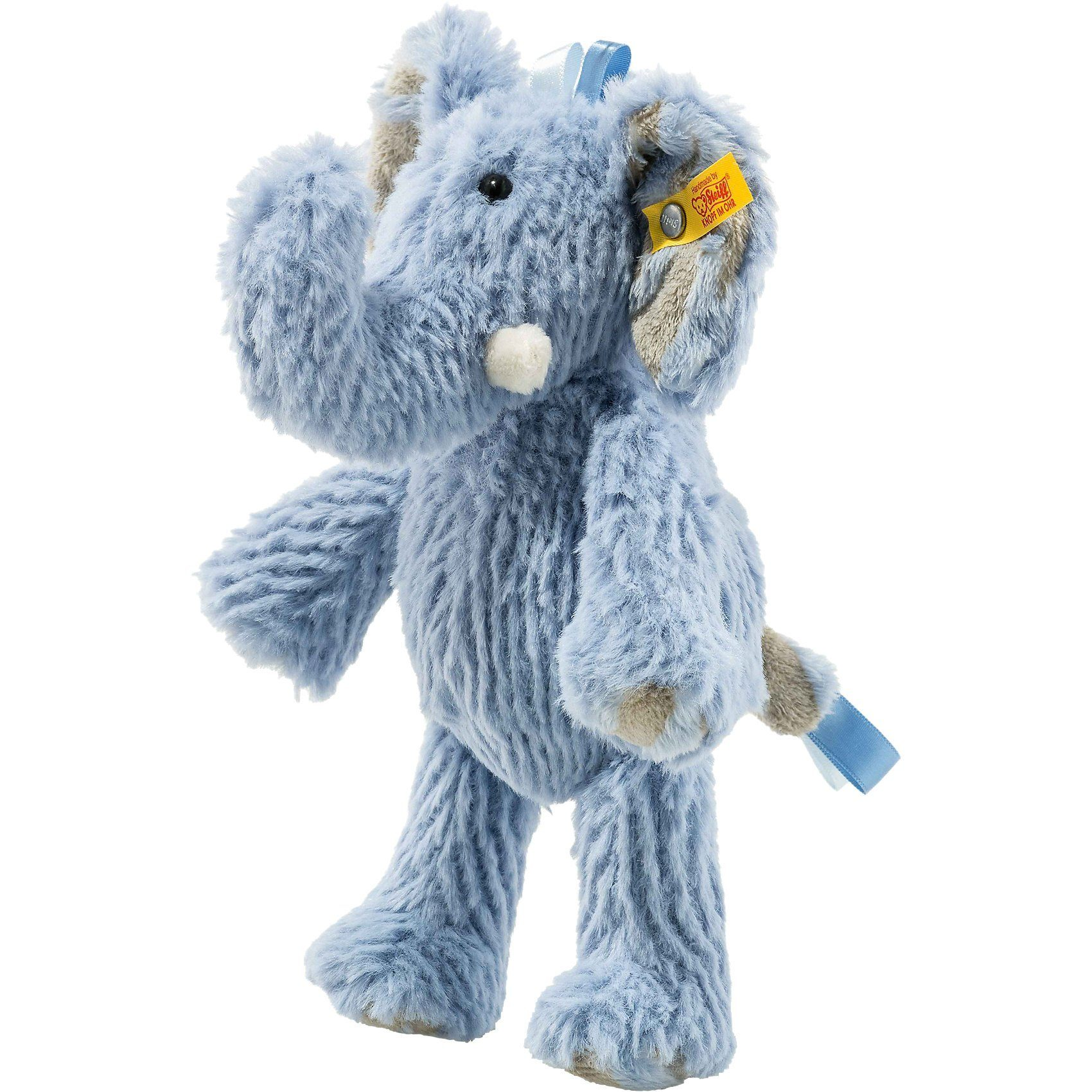 Steiff Elefant Earz blau, 20 cm