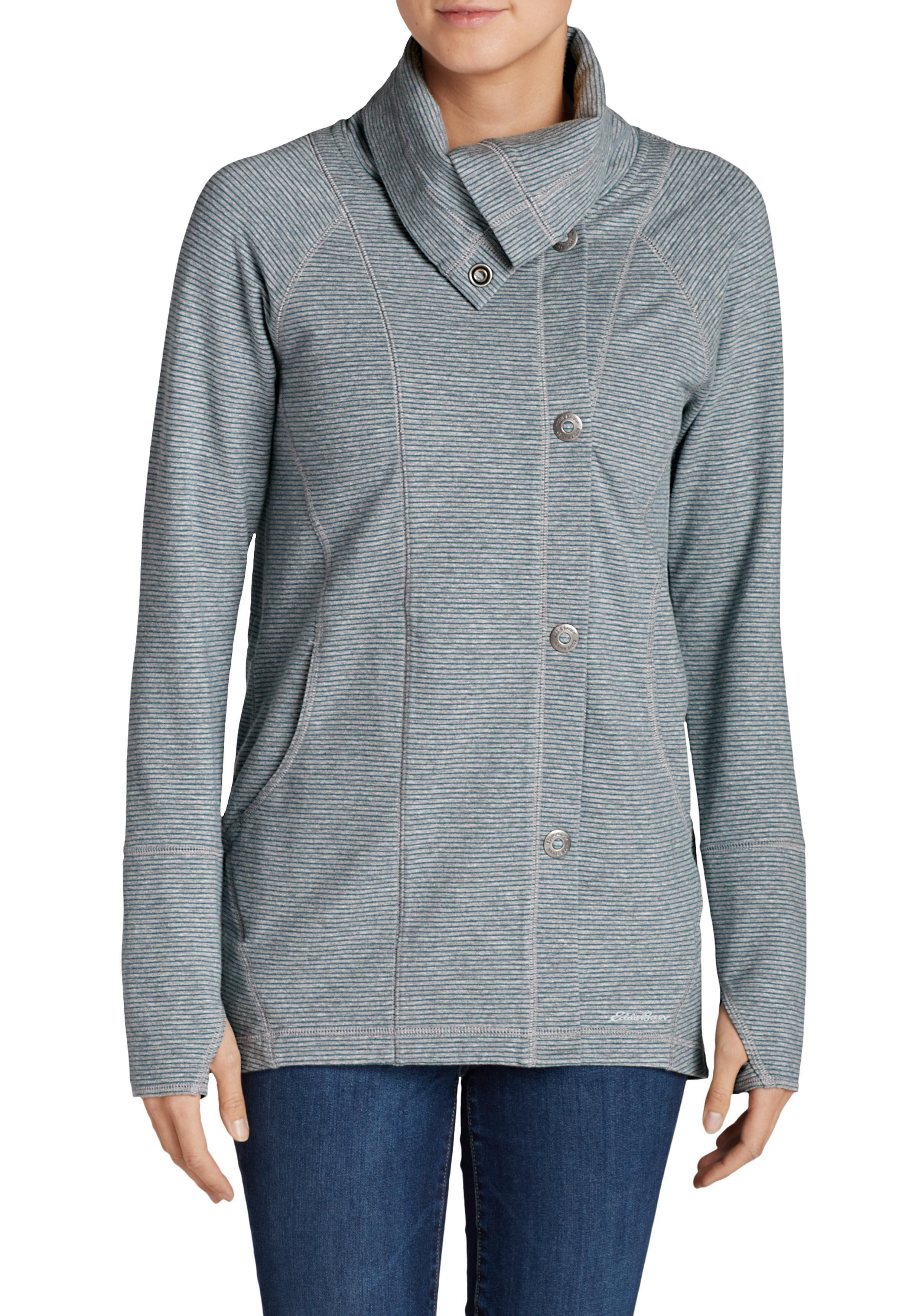 Eddie Bauer Motion Sweatshirt Summit asymmetrische Jacke