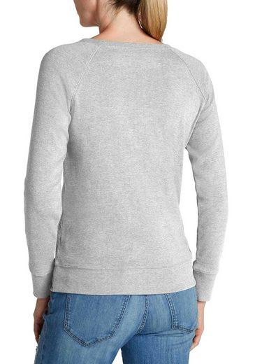 Eddie Bauer Radically Wash Sweatshirt - Round Neck - Padded