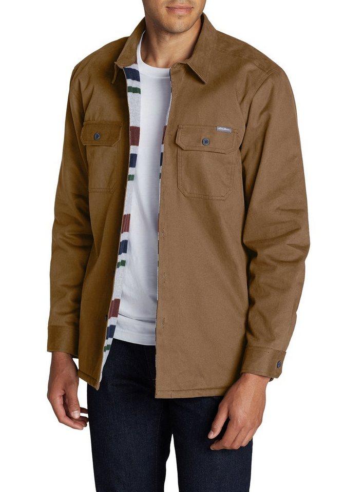 258637d932f6c5 Eddie Bauer Langarmhemd Hemdjacke mit Fleece gefüttert online kaufen ...