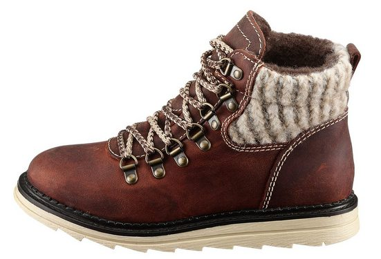 Eddie Bauer Lace Up With Knitting Use
