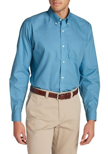Eddie Bauer Knitterarmes Pinpoint-Oxfordhemd - Langarm - Classic Fit -...