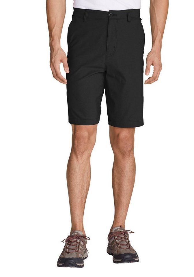Herren Eddie Bauer Shorts Horizon Guide Chinoshorts – Uni schwarz | 04057682134192
