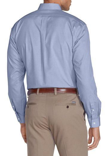 Eddie Bauer Knitterarmes Pinpoint-Oxfordhemd - Slim Fit