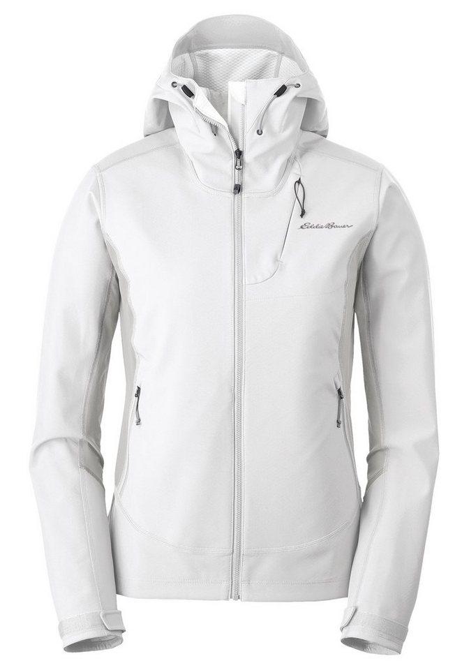 Eddie Bauer Outdoorjacke Sandstone Shield Jacke mit Kapuze | Sportbekleidung > Sportjacken > Outdoorjacken | Weiß | Eddie Bauer