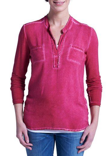 Eddie Bauer Shirtbluse im Materialmix