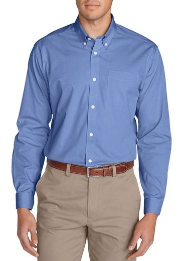 Eddie Bauer Knitterarmes Pinpoint-oxfordhemd - Classic Fit